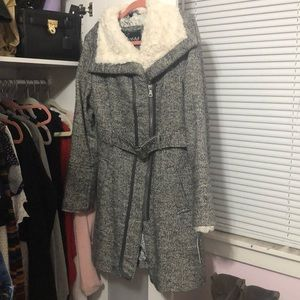 Guess Tweed Coat. New With Tags.